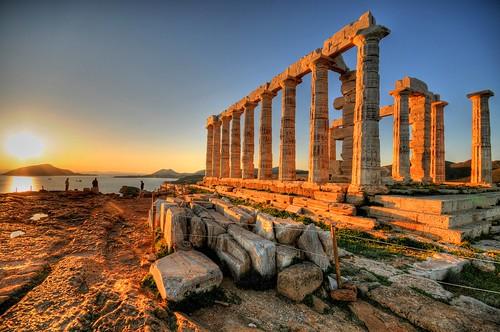 Cape Sounion & the Temple of Poseidon, Greece