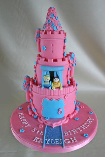 Birthday Cake (278) - Princess Tower
