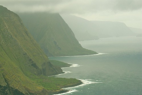 Sea Cliffs on Molokai