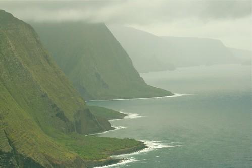 Sea Cliffs on Molokai