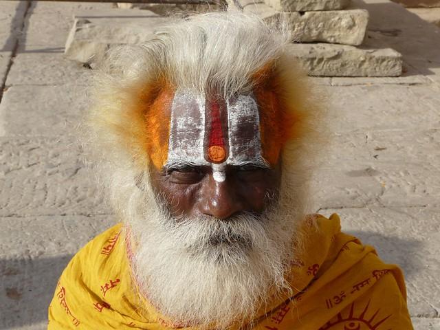 Sadhu de Varanasi (India)
