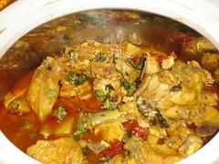 produce(0.0), gumbo(0.0), stew(1.0), curry(1.0), meat(1.0), food(1.0), korma(1.0), dish(1.0), cuisine(1.0), gulai(1.0),
