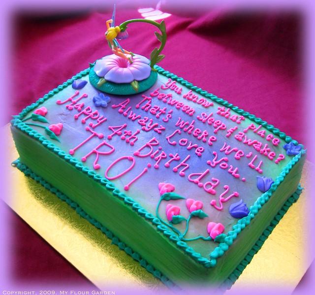 quater sheet cake