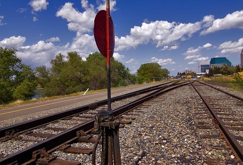 california road county railroad canon river landscape switch photo track rail tokina photograph locomotive sacramento choice crossroad railyard 50d 1116mm platinumheartaward explorer432 familygetty