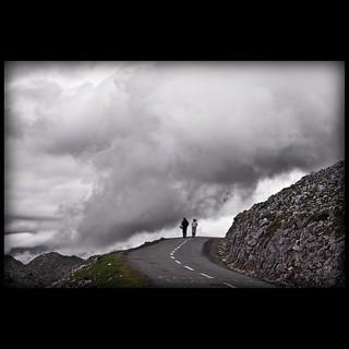 un paseo entre las nubes