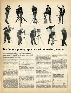 Life, February 21, 1964: Ten famous photographers start home-study course