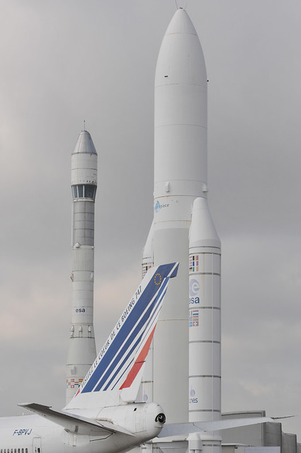 Ariane Rocket at Paris Air Show 2009