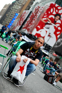 Danillo on Times Square