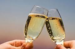 Sigue exención para los vinos espumantes