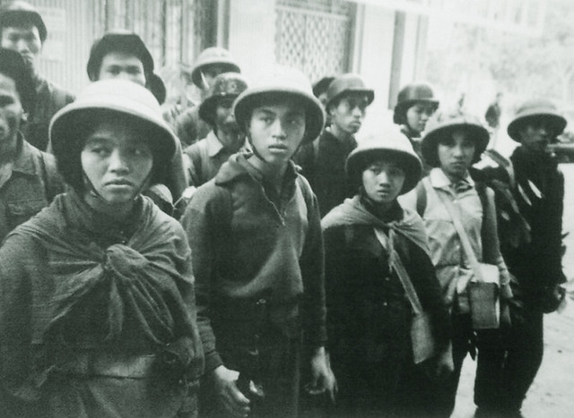 North Vietnamese Youth Entering the Army