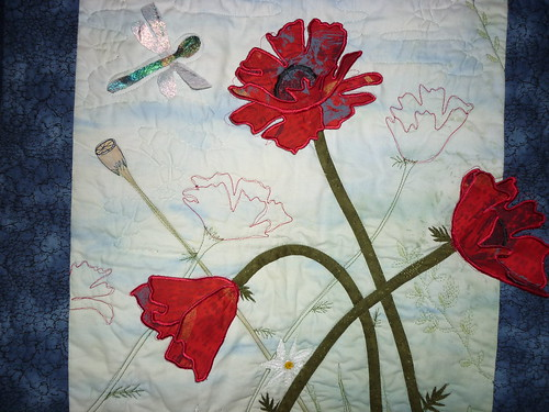 Detail 2 - Red Poppies