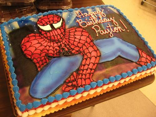 Spiderman cupcake cake walmart - photo#7