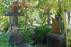 Tombe d'Anton Pevsner (Sainte-Geneviève-des-Bois)