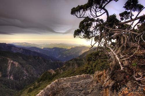 View from Jade Mountain (Yushan), Taiwan