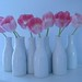 Milk Bottle Flower Arrangement