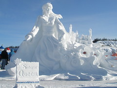 Say hello to the 'Snow Queen!'