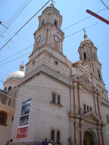 Templo del Señor de la santa Veracruz en Río Grande, Zac.