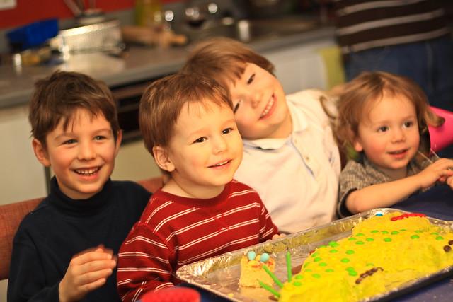 Les 4 cousins et les 3 ans d'Axel II