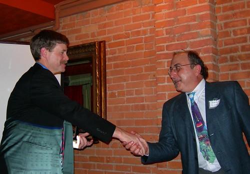 Bill Hall wins Promoter of Liberty Award