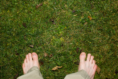 Keeping my feet on the ground - Day 213 of Project 365