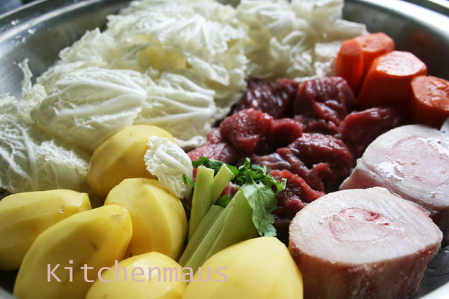 beef nilaga ingredients, cookware
