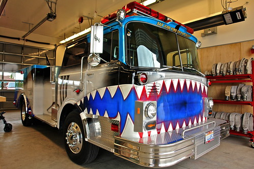SJS Shark Fire Engine