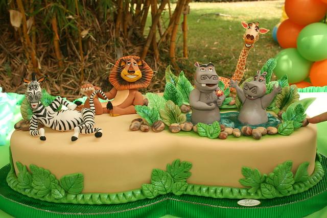 Madagascar Ii Cake 3 Flickr Photo Sharing