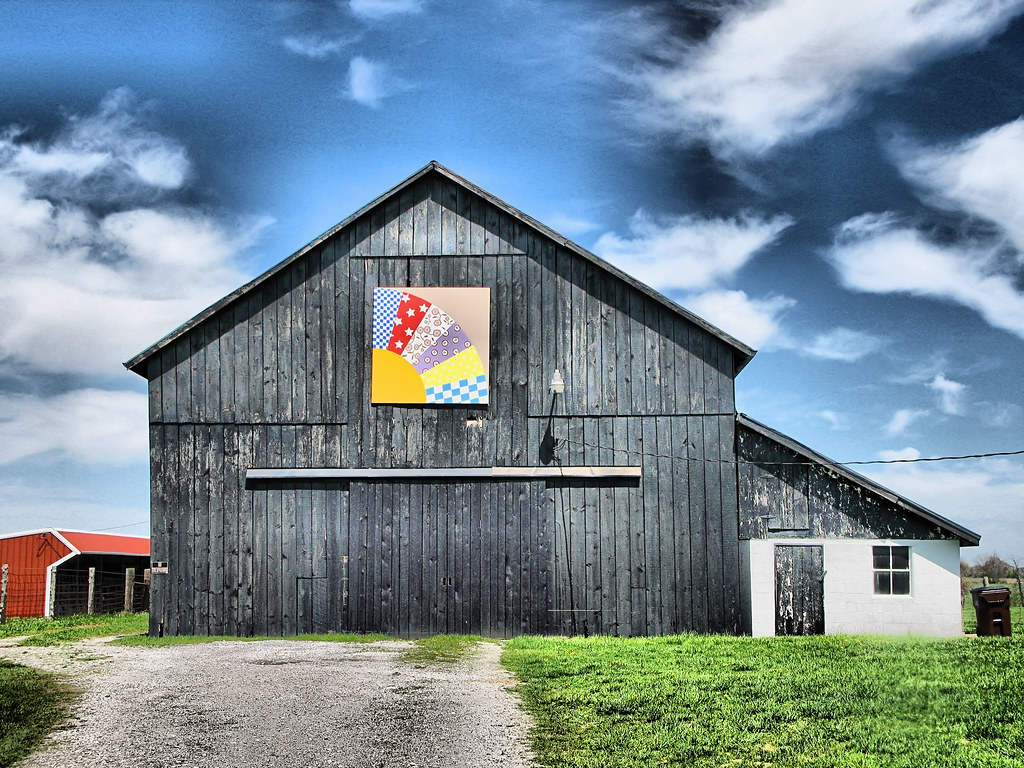 Quilt Patterns On Barns In Ky : Kentucky Quilt Barn Flickr - Photo Sharing!