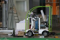 machine, forklift truck,
