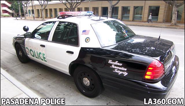 Pasadena Police Car Show