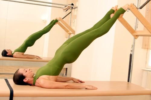 Pilates Übung Übungen exercise Cadillac