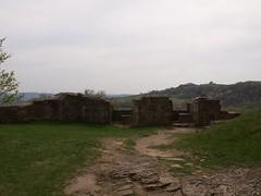 Mauerreste mit Ausblick