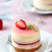 Cherry Blossom Strawberry Cheese Cake