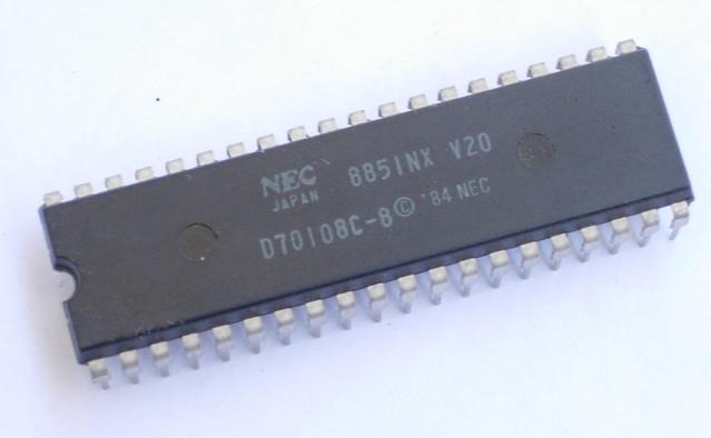 NEC V20 CPU