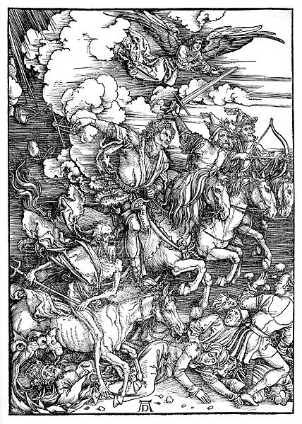 Durer_Revelation_Four_Riders from Flickr via Wylio