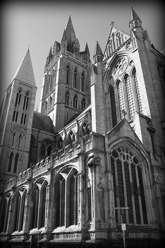 Truro Cathedral, from St.Mary's Street by Stocker Images