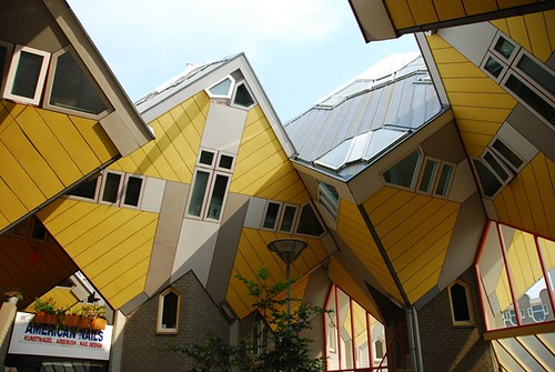 Cubic Houses ( Rotterdam , Netherlands )
