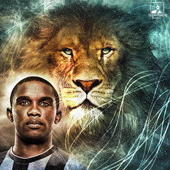 samuel eto'o all'inter - el leon