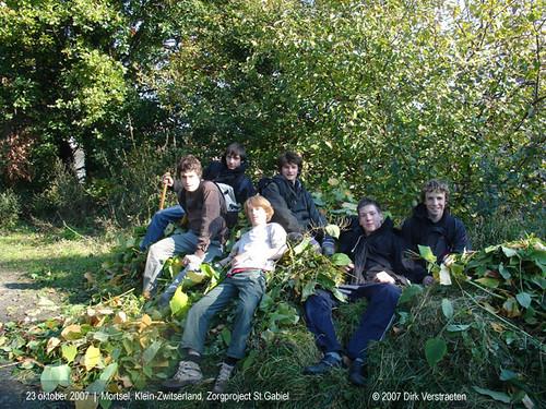 Mortsel, Klein-Zwitserland, zorgproject Sint-Gabriëlcollege