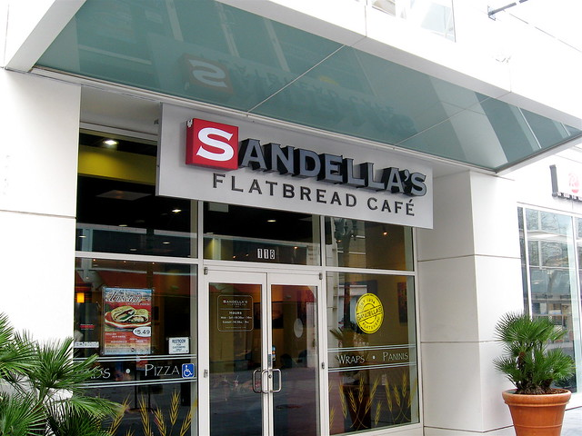Sandella S Flatbread Cafe Yelp
