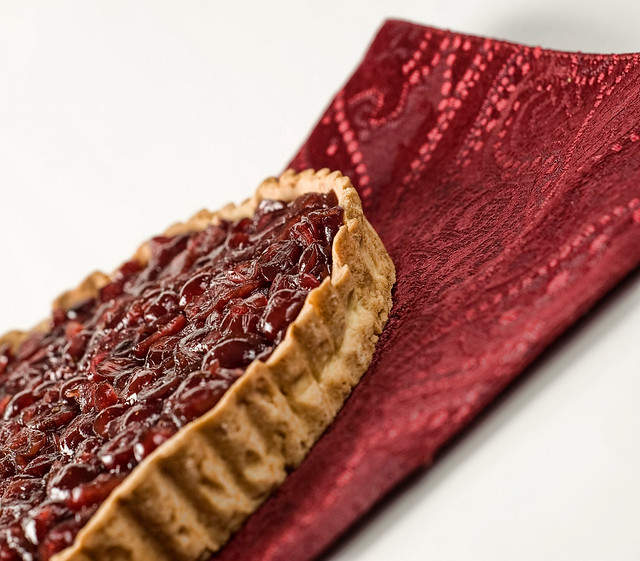 Cranberry-Orange Tart with Orange Fluff and Candied Ginger - a photo ...