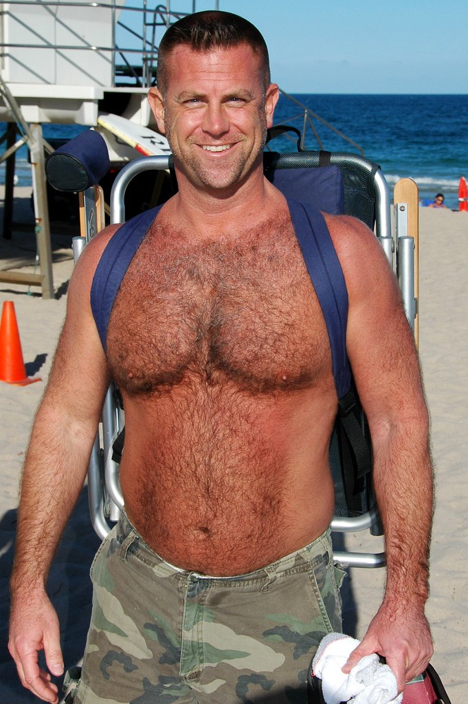 Gay hairy chest