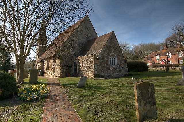 Newenden Church in Spring