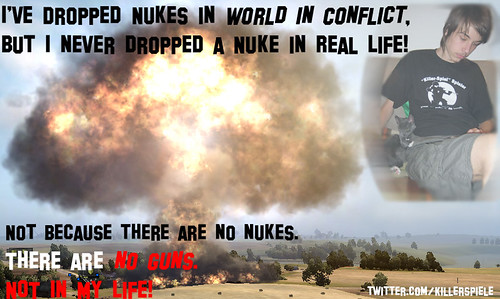 Games do not Kill. Nukes do.
