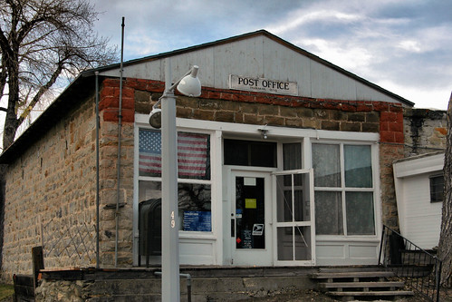 Parkman, Wyoming Post Office