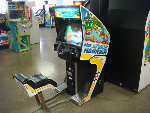 Can I plug a Space Harrier into a Super Hang-On cabinet for ...