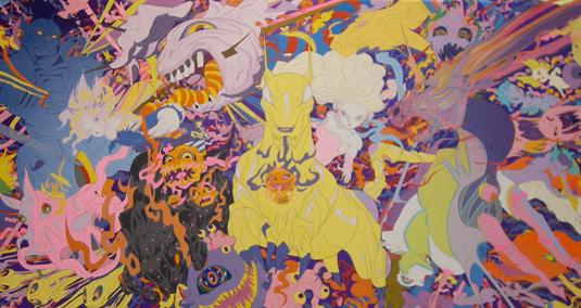 Yoshitaka Amano, Art Statements Gallery, Hong Kong