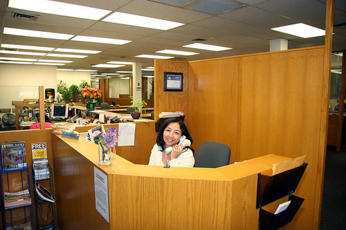 In-house receptionist