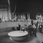 The San Francisco Conference: The United States Signs United Nations Charter