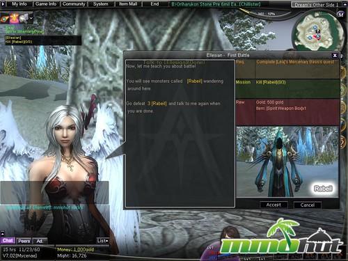 Atlantica Online Quest